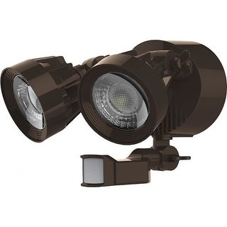 """Nuvo Lighting 65/204 2 Light 9-1/4"""" Wide Integrated LED Outdoor Dual Head Flood"""