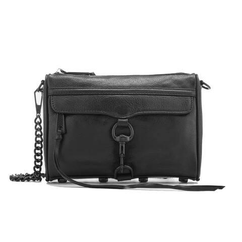 Rebecca Minkoff Mini Mac Bag Black (HF16MFCX01)