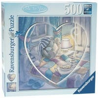 Ravensburger Me To You: Heart 500 Piece Heart in a Square Puzzle - Blue - 	20.0 in. x 20.0 in.