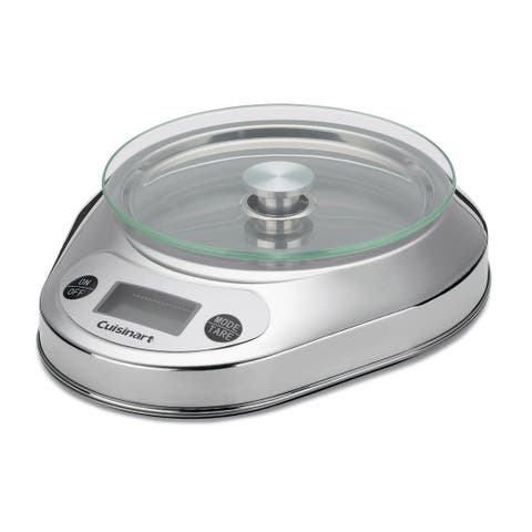 Cuisinart KML-KO3B Precision Chef Bowl Electronic Kitchen Scale, Stainless Steel