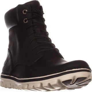 Timberland Brookton Lace Up Boots, Black