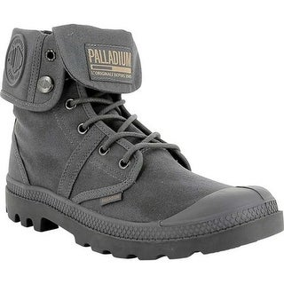 Palladium Pallabrouse BGY Ankle Boot French Metal/Forged Iron Waxy Canvas