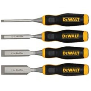 Stanley Tools DWHT16063 Wood Chisel Set, 4 Piece