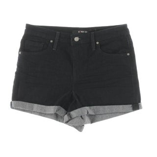 Kiind Of Womens Cuffed Casual Shorts