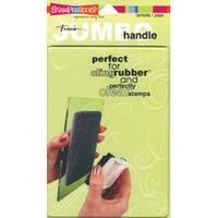 "Jumbo Rectangle - 5""X7"" - Stampendous Jumbo Perfectly Clear Handle Stamp Block"