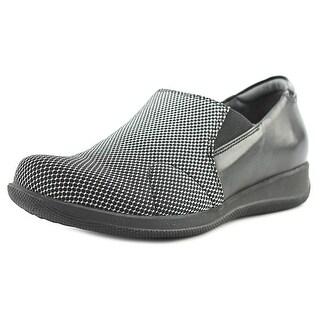 Softwalk Tilton W Round Toe Leather Loafer