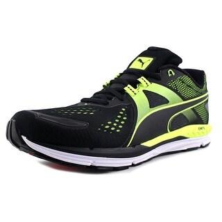 Puma Speed 600 Ignite Men Puma Black-Safety Yellow Running Shoes