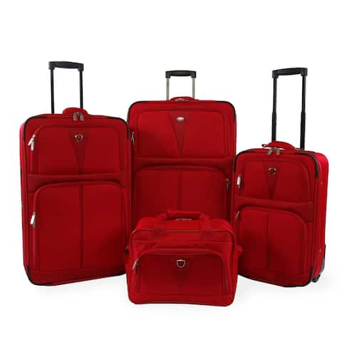Pacific Coast Royale Collection 4-piece Softside Luggage Set
