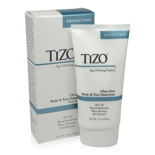 TiZO Ultra-Zinc Body and Face Sunscreen SPF 40 Non-Tinted 3.5 oz
