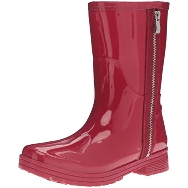 071aca6bdbf9 Shop Unlisted Womens Rain Zip Rain Boots Rubber Zipper Detail - Free ...