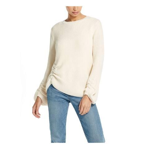 WEATHERPROOF VINTAGE Ivory Long Sleeve Sweater XL