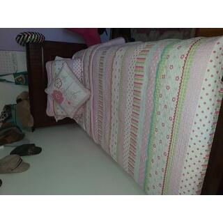 Taylor & Olive Moorland Pastel Sheets Set - Pink floral, Deep Pockets