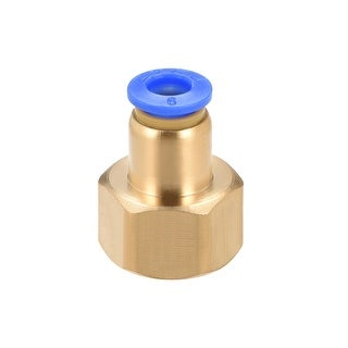 """3/8"""" G Female Straight Thread 6mm Push In Joint Pneumatic Quick Fittings - 3/8"""" G x 6mm"""