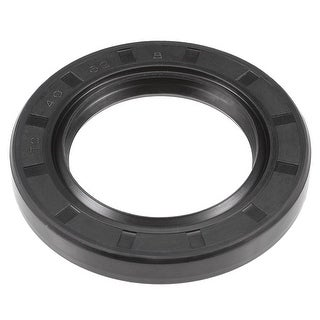 Oil Seal, TC 40mm x 62mm x 8mm, Nitrile Rubber Cover Double Lip - 40mmx62mmx8mm