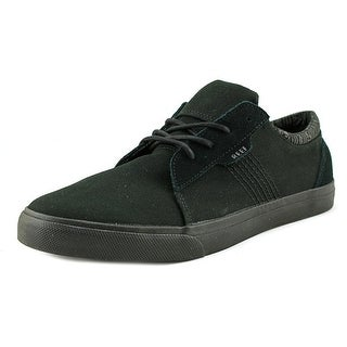 Reef Ridge Men  Round Toe Canvas Black Sneakers