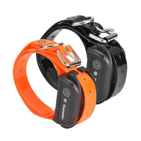 Dog Training Collar Ownpets Remote Dog Training Collar, Rechargeable and Waterproof Dog Shock Collar for All Size Dogs - M