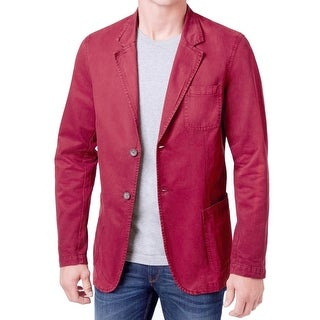 WEATHERPROOF NEW Tandoori Red Mens XL Three Pocket Two Button Jacket