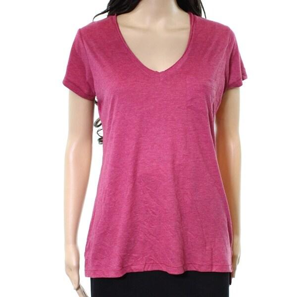 Alternative Sangria Womens Medium V-Neck T-Shirt Top