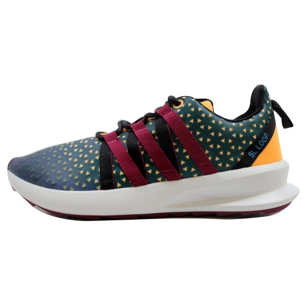 new style 06859 9a094 Adidas Men  x27 s SL Loop CT Shadow Blue Magenta-Crystal White