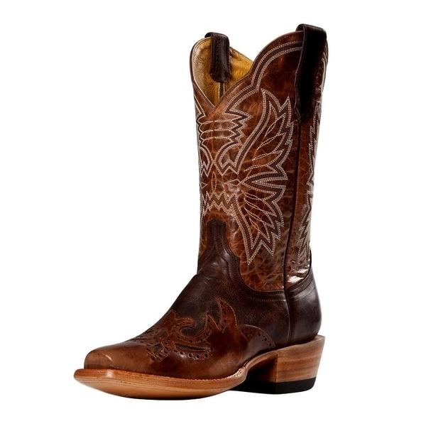 Cinch Western Boots Womens Cowboy Mad Dog Orix Chocolate