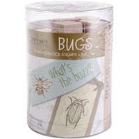 "Hero Arts Ink 'n Stamp Tub 3""X4""-Bugs"