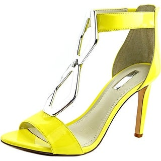 BCBGeneration Cayce Women Open Toe Patent Leather Sandals