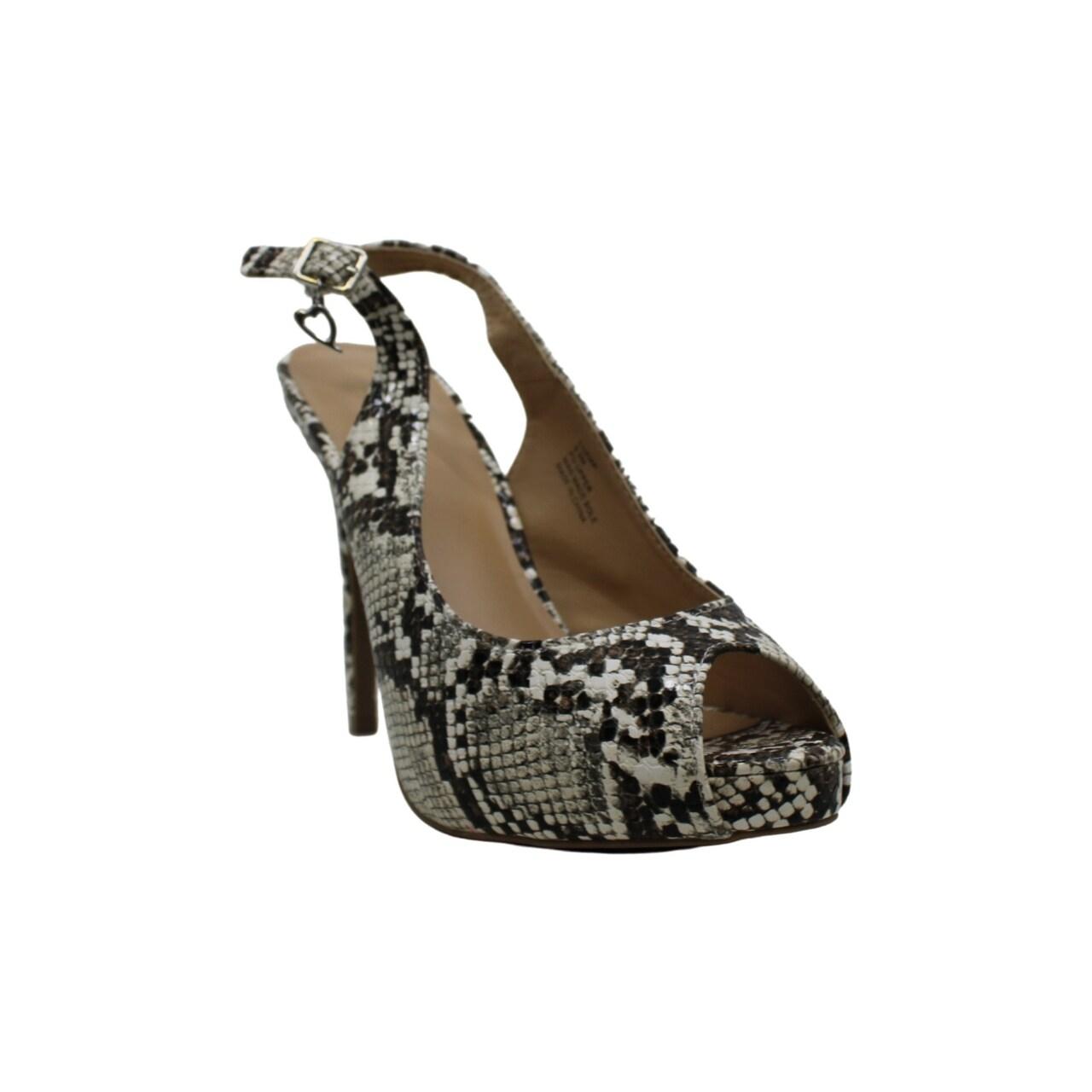 Thalia Sodi Womens Luzia Slingbacks Stiletto Peep-Toe Heels Shoes BHFO 0987