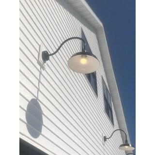 Shop Troy Rlm Lighting Standard Black 23 Inch Arm Wall