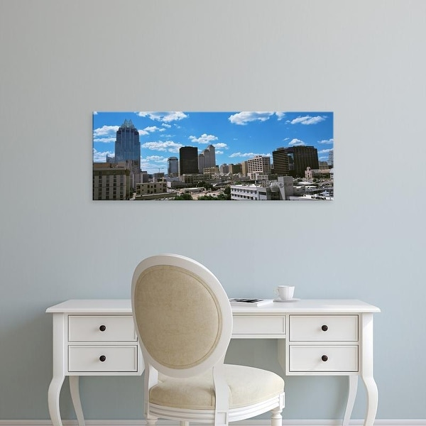 Easy Art Prints Panoramic Images's 'View of buildings in Austin, Texas, USA' Premium Canvas Art