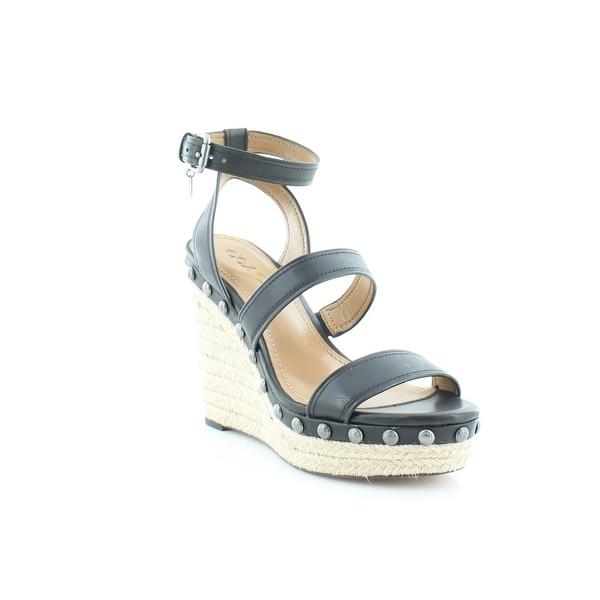 Coach Darcy Women's Sandals & Flip Flops Black