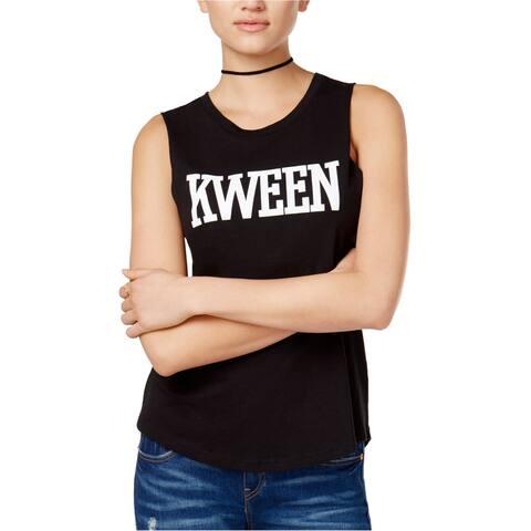 Chrldr Womens Kween Graphic Tank Top