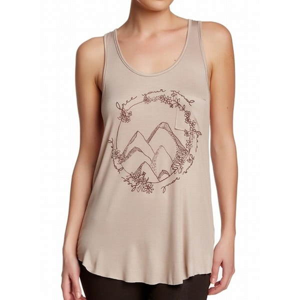 bba45aad28ed95 Shop Project Social T NEW Beige Khaki Women s Size XL Free Your Mind Tank  Top - Free Shipping On Orders Over  45 - Overstock - 16533882