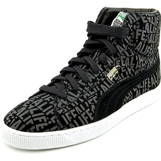 Puma Suede Mid X Stuck   Round Toe Suede  Sneakers