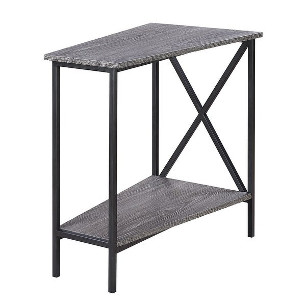 Carbon Loft Ehrlich Wedge End Table. Opens flyout.