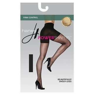 Hanes Women's Firm Control Power Shapers®; - Size - M - Color - Black