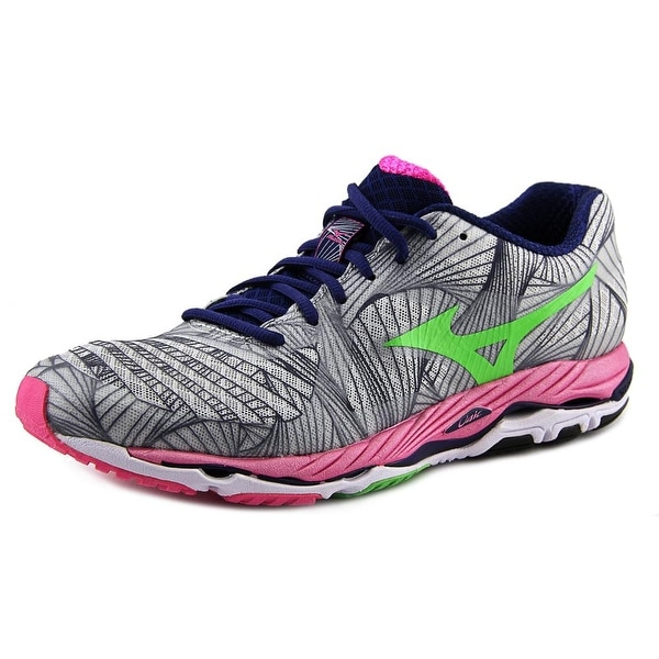 Mizuno Wave Paradox Women Round Toe Synthetic Gray Running Shoe