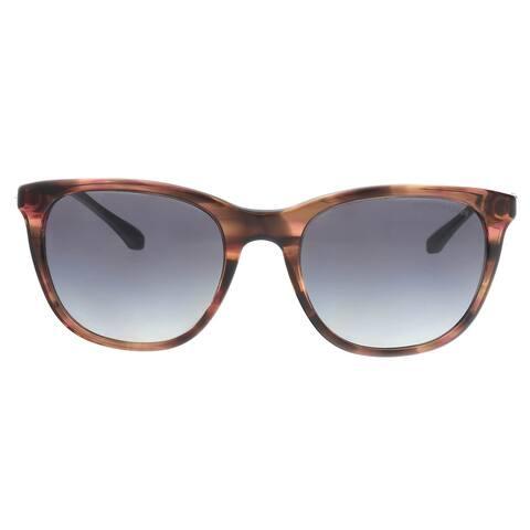 Emporio Armani EA4086 55538G Brown Cat Eye Sunglasses - 54-19-140