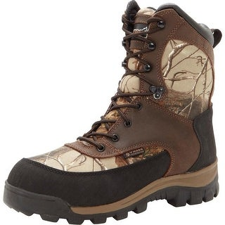 """Rocky Outdoor Boots Mens 8"""" Core WP Brown Realtree Ap FQ0004754"""