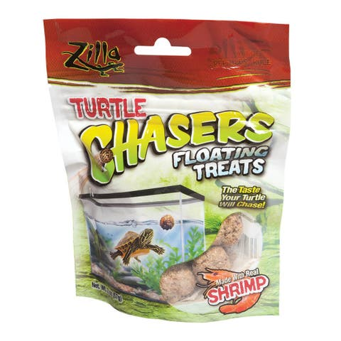 Zilla Turtle Chasers Floating Treats Shrimp 2 ounces - 2 ounces
