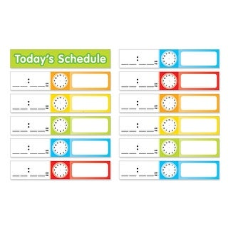 Schedule Cards Pocket Chart Add Ons
