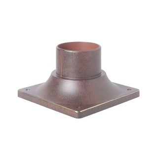 """Craftmade Z202 5-7/8"""" Wide Square Post / Pier Mount Base"""