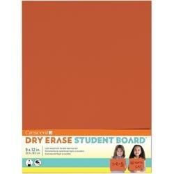 "Orange - Student Dry Erase Board 9""X12"""