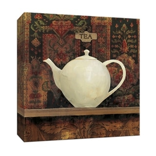 """PTM Images 9-151885  PTM Canvas Collection 12"""" x 12"""" - """"Ornamental Teapot II"""" Giclee Coffee, Tea & Espresso Art Print on Canvas"""