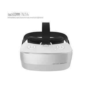 TechComm Theseus 3D Android 16GB VR Headset with Wi-Fi, OTG and High-Tech Optical Resin Lens