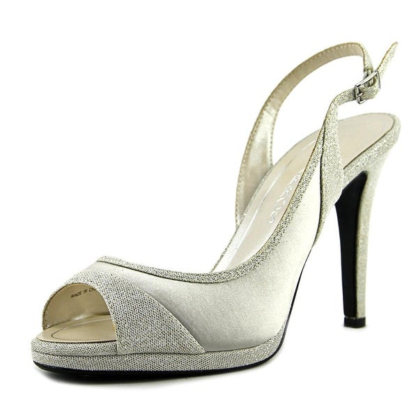 Caparros Olympia Women Silver Sandals