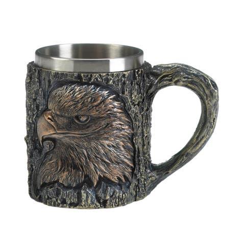 "Patriotic Eagle Mug 6x3.75x4.5"""