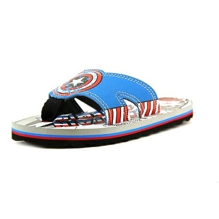 Stride Rite Captain America Thong Open Toe Synthetic Thong Sandal
