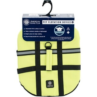 Yellow Medium - AKC Flotation Vest