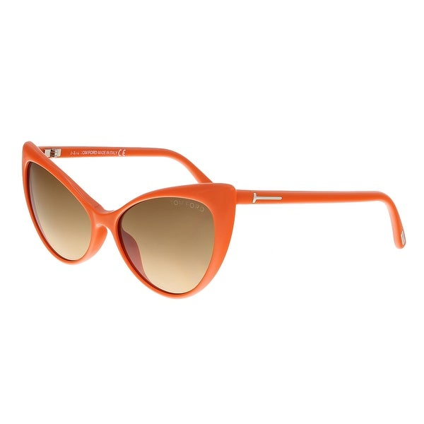 Tom Ford FT303 42F ANASTASIA Orange Cateye Sunglasses - 55-15-135