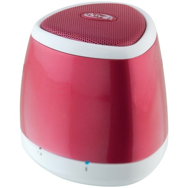 Ilive Blue Isb23R Portable Bluetooth(R) Speaker (Red)